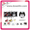 Hot Sales 3 Channel Mini Metal RC Helicopter with GYRO+USB/New Packaging