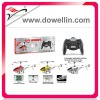 Hot Sales 3 Channel RC Metal Helicopter with GYRO+USB