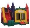 Hot Selling inflatabale jumping castle / bouncy  castle/slider castle