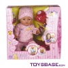 Hot items 9 functions baby doll with voice