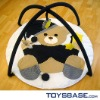 Hot sale play carpet baby bear toy