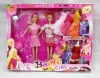 Hot sell 11inch solid beauty toy doll with beautiful clothes,plastic baby doll
