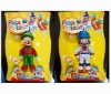 Hot sell PATATI PATATA clown action Figure 2 assoted