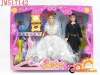 Hot selling 2pcs fashion doll bobby toy with clothhes