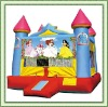 Hot selling outdoor playhouse(inflatable castle)