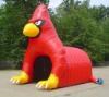 Inflatable Cardinal Mascot Tunnel