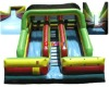 Inflatable Green slide