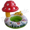 Inflatable Mushroom-Snail Baby Boat,inflatable toys,inflatable baby boat