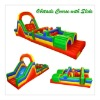 Inflatable Obstacle Course with slide,Adult&Kids Obstacle course