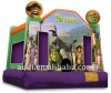 Inflatable Shrek Castle with Cover 4*4*4m