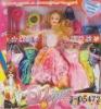 J-05472 dream girl doll/moveable fashion dolls