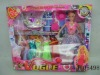J-05498 dream girl doll /doll with decorations set/ toy doll