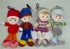 JM7407 stuffed doll, cloth doll, soft doll