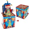 Jack In The Box Musical Toy Tin box