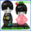 Japanese wooden doll