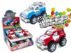Jeep 2 in 1 with friction function  candy in toy