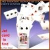Jet card to find magic,card magic,find 51 cards magic,find card in the cup,magic props,magic trick