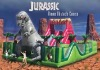 Jurassic Theme Inflatable Obstacle