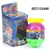 Kid plastic electronic top toy BZC123440
