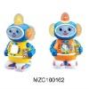 Kid plastic toy light music robot  MZC100162
