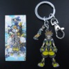 Kingdom Hearts Character Metal Key Ring Chain New