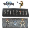 Kingdom Hearts II 8 KEY BLADE Sora Necklace Pendant