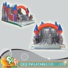 Latest Colorful Inflatable Castle Slide