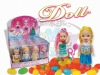 Lovely Doll jelly bean candy toys