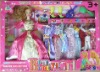 Lovely   Mini   Baby   Dolls   Dressed   Color   Clothes