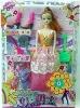 Lovely Plastic Little Girl Doll Toy