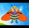 Lovely Worker bee  Kite, BEE Shape Kite