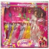 Lovely girls model toy with variety of cloths