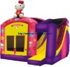 Lovely inflatable kitty cat combo bounce house