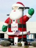 Lovely inflatable santa