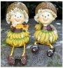 Lovely porcelain doll for home decoration