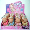 Lovely quiet plush little baby dolls toy