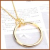 Magic Ring and Chain Knot big size Magic Knot ring and chain magic knot gold magic show