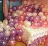 Metallic balloons for decorating