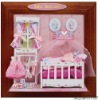 MiNi Wooden Dollhouse DIY Model Dolls House Holiday Gift #Baby Bedroom
