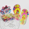 Mini Slippers Toy Candy