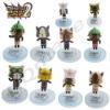 Monster Hunter Potable Stage Figures Set of 10pcs