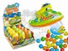 Motorboat Water gun promotion candy toys