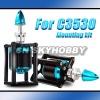 Mounting seat mount kit for RC motor C3530