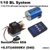 Mystery 1/10 Brushless System 1/12,1/10 off-road racing for experienced drivers HL-SL60A + 8.5T@4000KV(HL540-3650 Motor) RC CAR