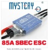 Mystery MY Series 85A 2S-6S Lipo Programable Brushless Speed Controller ESC Trex 500 Heli