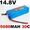 Mystery Thunder Series 14.8V 5000MAH 30C Recharger Lipo battery