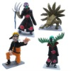 NARUTO Uzumaki PVC Figure Set Of 4 Pcs Brand New