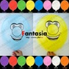 NEW Party Decorations Flying Flashing Printed Latex Balloons with LED Light Inside
