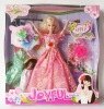 NEWEST BEAUTIFUL FASHION TOY DOLL WITH CLOTHES KV0016