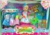 New Plastic Princess Baby Girl Doll